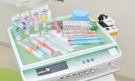 けいびる歯科ホームケアアイテム