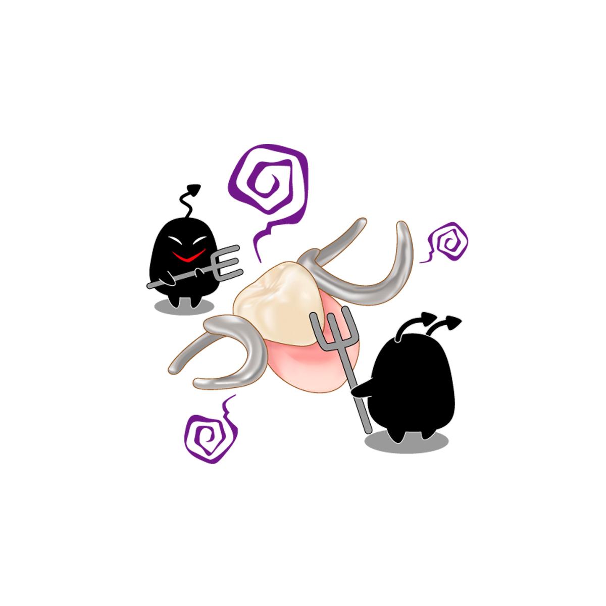ミュータンス菌が歯を溶かす!?